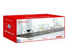 Spiegelau & Nachtmann - Bicchieri da Vino e Decanter, Serie Authentis, Gläserset, Set da 12