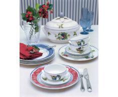 Villeroy & Boch Cottage Piattino per Tazza da Brodo, 17 cm, Porcellana Premium, Multicolore