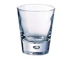 Durobor 716/07 Norway Amuse-Bouche/bicchierino da grappa 70ml, 6 bicchieri, senza contrassegno di riempimento