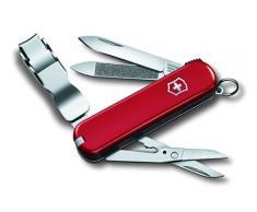 Victorinox, Coltello multiuso tascabile Nail Clip 580, Rosso (Rot)