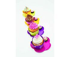 ZAK Designs 1333-N970 - Piatto da dolce, 20 cm, colore: Lampone