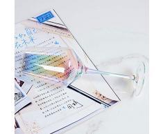 NO BAND Calice placcatura Arcobaleno Bicchiere da Vino Bicchieri da Cocktail in Cristallo Flute da Champagne Bicchiere da Brandy Bicchiere da Bere Stemless Party Supplies-D