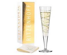 RITZENHOFF 1079011 Celebration Glass 2021 - Bicchiere da champagne, 200 ml