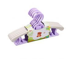scalabile bambino adulto grucce/Skid home gratis plastica copre il palo/ bambino-vestiti appesi antivento stendibiancheria-C