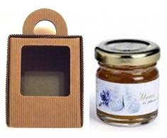20 Scatole per 1 vasetto miele/marmellata da 500 gr. mm.85x85x110