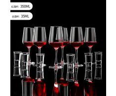Coppa del Vino Rosso, Bicchiere di Vino Europeo, Tazza Grande, Tazza Alta, Bicchiere di Brandy per La Famiglia, Serie Phantom 12