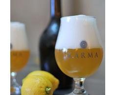 Set Bicchieri Birra Karma 6 Pezzi