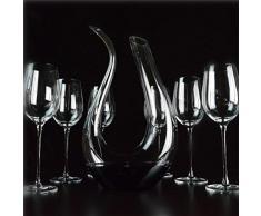 XJQ u di cristallo al piombo Decanter decanter set professionale High-end vino vino vetro B