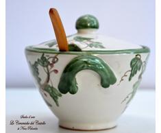 Formaggiera Linea Edere Dipinto a mano Le Ceramiche del Castello Made in Italy
