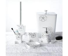 Ridder, Set di accessori per il bagno Diamond, 4 pz., Bianco (Weiß)