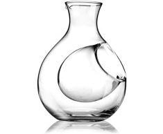 DECANTER Casuale Decantatore di Vino Ghiaccio 250ml Famiglia Brocca di Vino De Decantatore di Cristallo Vetro Sake Bottiglia Bottiglia Cucina MUMUJIN (Color : Default)