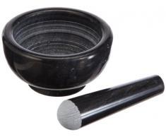Küchenprofi Mortaio in Marmo 11 cm, Colore: Nero