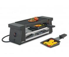 Spring - Set per raclette Compact, colore: Nero