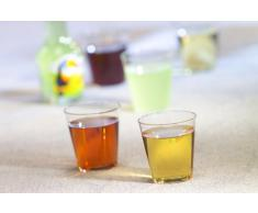 Papstar 12158 - Bicchieri da grappa, PS 2 cl, ø 3,7 x 4,1 cm, in vetro trasparente, confezione da 30x40 (1200 pezzi)