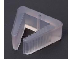 1 fermo finestra, blocco finestra, fermafinestra, articolo per sicurezza bimbi plastico trasparente 85 x 70 mm