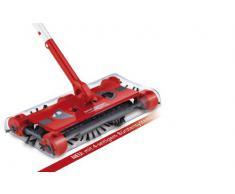 TV - Unser Original, 7146, Swivel Sweeper G2, Scopa elettrica rotante con raccordo a gomito, Rosso