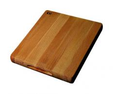 T&G Woodware Tagliere professionale di dimensioni medie, in legno di faggio, 38 x 30,5 x 4cm