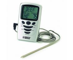 CDN - Termometro da cucina con sonda a immersione, dotato di timer, ambito di misurazione: da 0 a 250° C