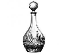 Crystaljulia 4134 – Bicchieri Vino caraffa piombo cristallo 1150 ml