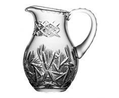 Crystaljulia 05976 - Brocca in cristallo al piombo, 500 ml