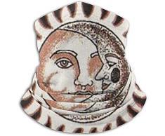 WCUTE Scaldacollo in Pile Sun And Moon - Scaldacollo Reversibile, Archetto scaldapiatti Versatile