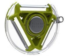 Joseph Joseph Pelapatate rotante compatto a 3 lame colore: Verde