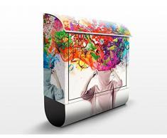 Cassetta postale design Brain Explosions 39x46x13cm, Größe:46cm x 39cm