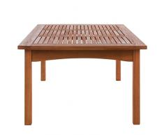 Ultranatura Tavolo da Giardino della Serie Canberra, Legno di Eucalipto Certificato FSC, 110 cm x 70 cm x 47 cm