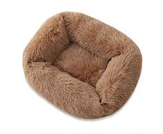 Lanceasy - Cuccia per cani Square Calming Warming in peluche extra large