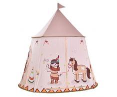 Sichuan Tenda da Gioco a Motivi Indiani per Bambini, Tenda da Gioco per Bambini Tenda da Bambino per Ragazzi e Ragazze Tenda da Castello per Interni allaperto