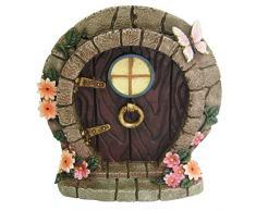 Statuetta fata, elfo, hobbit, decorazione per albero, giardino o casa, idea regalo divertente, Design: Anthony Fisher