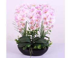 ABSIN Ceramica vasi di fiori orchidee fiori artificiali Bouquet nozze home decor rosa
