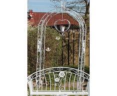 "Romantico Arco di rose ""Rosa"", Casa di campagna arco di rose Ferro Bianco"