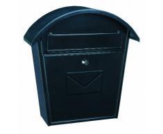 Rottner, Cassetta postale in acciaio Jesolo, con grande capienza T02934, Grigio (anthrazit)