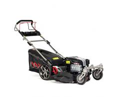 NAX POWER PRODUCTS 5000S motore Briggs & Stratton serie 875EXi 190 cm3 ReadyStart larghezza di taglio 56 cm cesto 75l ruote anteriori piroettanti tagliaerba a scoppio a trazione