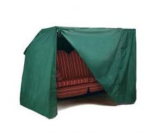 Woltu 126 - Telo di copertura per mobili da giardino, impermeabile, colore verde per altalena in legno verde GZ1166
