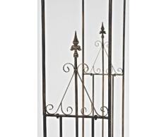 CLP Grande arco per piante rampicanti PARIS, in ferro, altezza 266 cm, larghezza 128 cm, profondità 36 cm bronzo