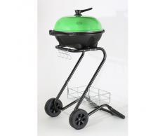 RGV 110551 Grill Barbecue Elettrico, Verde