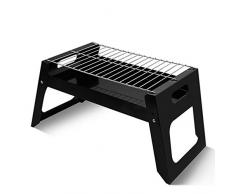 Galapara Barbecue Carbone Portatile per 4-6 Persone,Barbecue Carbone Barbecue Pieghevole,Mini Barbecue per BBQ allaperto Giardino Balcone Terrazza Campeggio Picnic