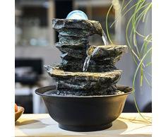 il salotto di decorazione feng shui palla fontana waterscape artigianali scrivania ornamenti zhaocai affari doni,lsg8819: 21 * 2 * 29