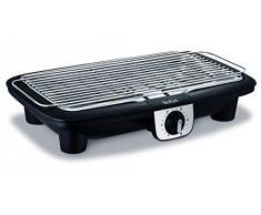 Tefal bg920812 barbecue elettrico Easy Grill XXL BBQ su tavolo Termostato 5 Temperature cottura fino a 10 persone 2500 W
