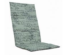Kettler 0309001-8712 - Cuscino per sedia a sdraio da giardino in alluminio e tessuto, misure 123 x 50 x 3 cm, colore: Beige