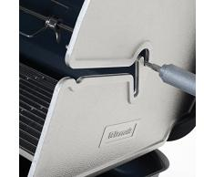 Dometic Classic 2 Barbecue a griglia portatile, funzionamento a gas, con 2 piastre di cottura (50 mbar)
