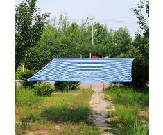 XIAOYAN Vele Parasole Panno ombreggiante, Crittografia addensata Protezione Solare Ombrellone da Giardino Traspirante Balcone Isolamento Serra 15 Misure (Dimensioni : 3×5m)
