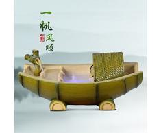 Feng shui giro di flusso di acqua finanziaria Decorazione casa acqua fontana mestiere dono sala soggiorno decorazione ufficio