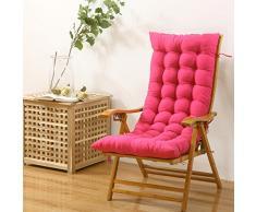 SQINAA Allungare il jumbo sedia a dondolo cuscini in inverno,Cuscino schienale per home Veicoli Tatami Coperta Cuscini per sedia swing all'aperto -D 48x120cm(19x47inch)
