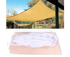 LaDicha 2.5 X 2.5 M Top Sun Shade Vela Shelter Giardino Esterno Copertura Auto Veranda Tetto