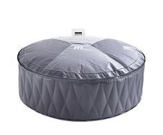 VB Italia Piscina idromassaggio gonfiabile rotonda da esterno 6 posti diametro 204 cm. Autogonfiabile