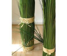 Fascio d'erba coda di volpe con fiocco, 120 cm - Erba decorativa / Pianta artificiale - artplants