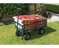 Draper 58552, Carrello da giardino, con rete in acciaio, colore: Verde